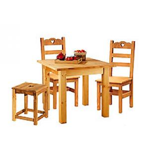 Обеденная группа мебели из сосны