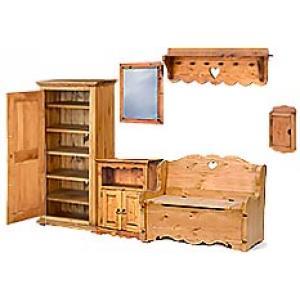 Мебель в прихожую из сосны