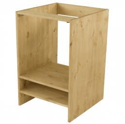 Шкаф-стол под плиту  CH-BF (600)