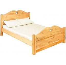 Кровать COEUR 1400 (высокое изножье)