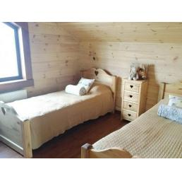 Кровать LCOEUR 900 (высокое изножье)