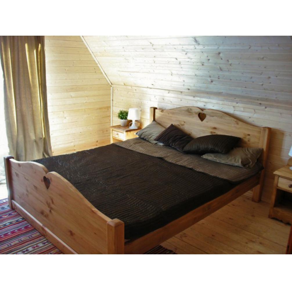 Кровать LCOEUR 1800 (высокое изножье)