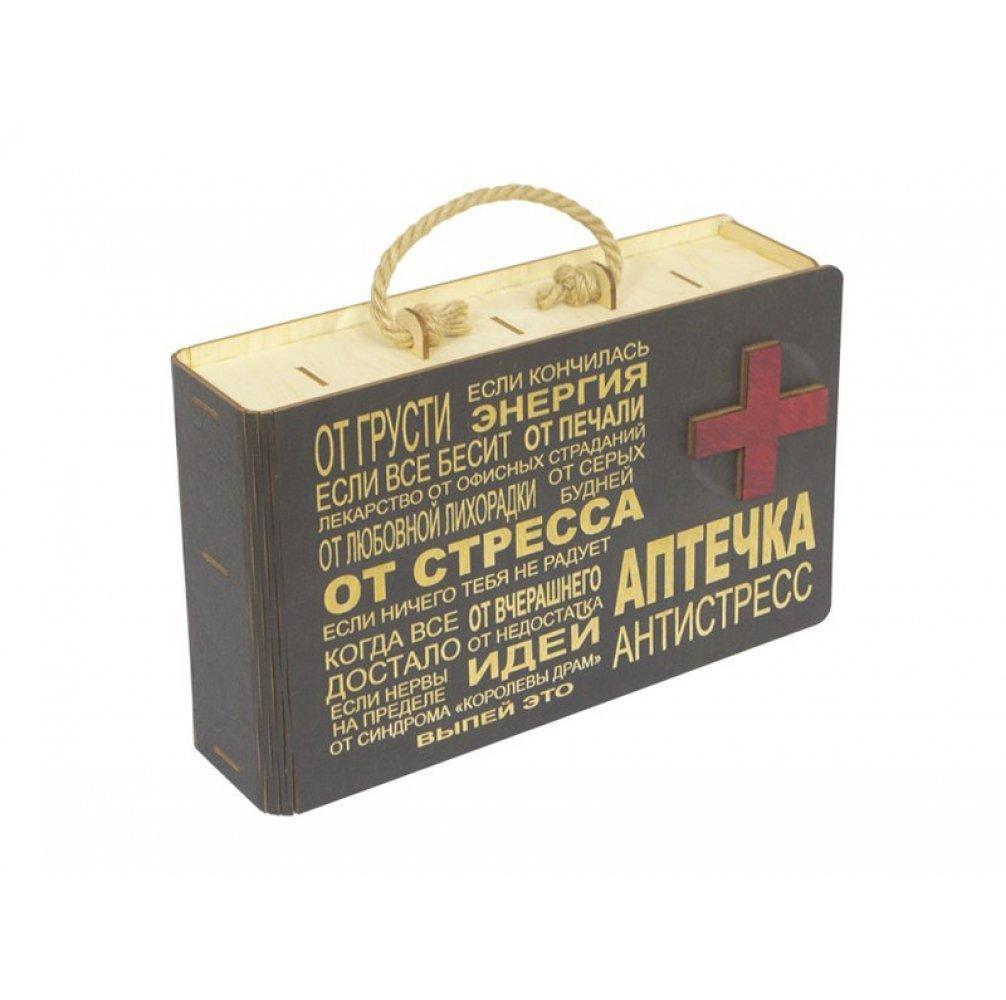 """Подарочный набор """"Аптечка"""" Венге"""