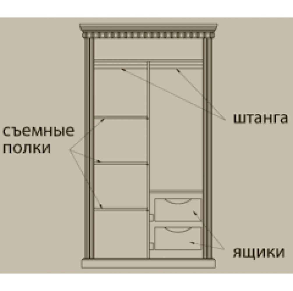 """Шкаф """"Грация-11"""" (ЭЗ)"""