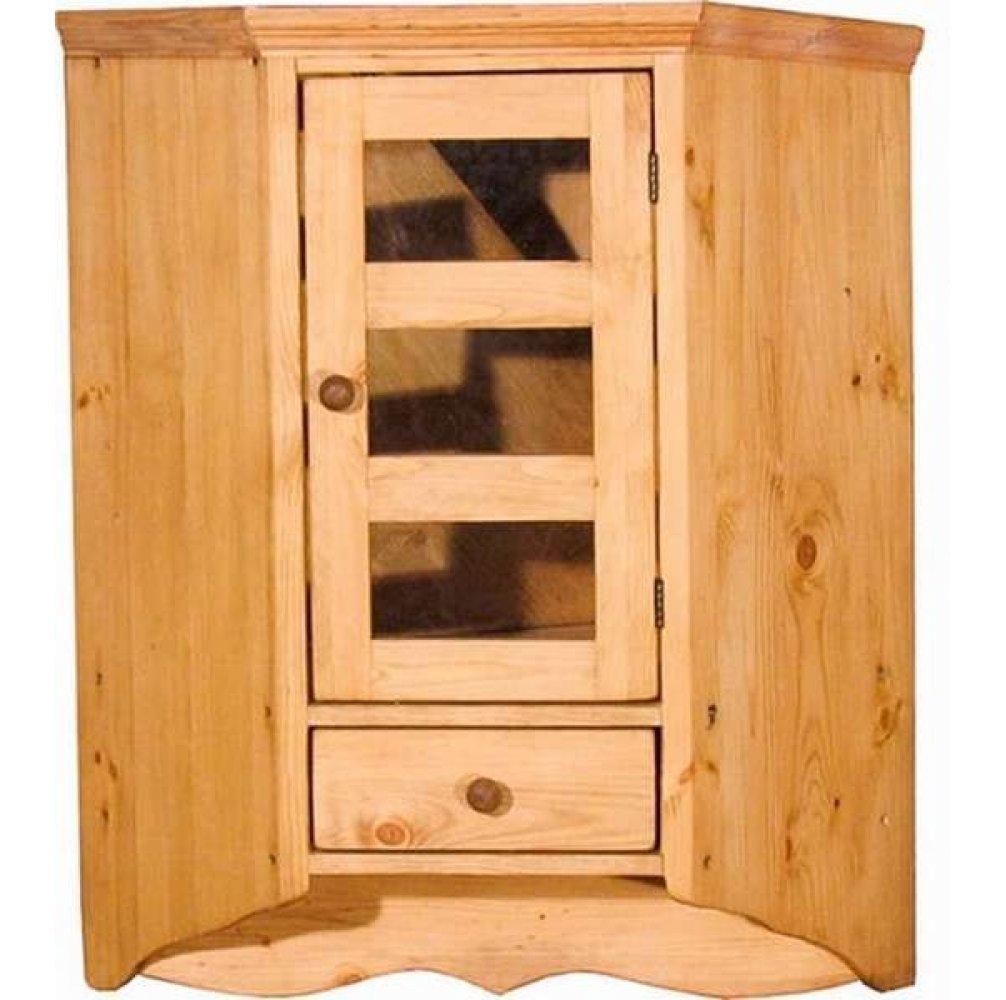 Шкаф настенный угловой 15 (600)