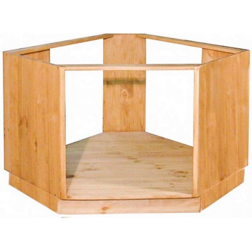 Шкаф-стол угловой под плиту 39 (1050)
